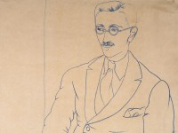 Portrait of Gerald Reitlinger by (John) Christopher Wood, 1926 (Museum number: WA1978.51)