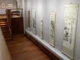 Chinese Paintings Gallery - Lingnan Masters exhibition hanging scrolls case.