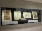 Eastern Art Paintings Gallery - Bengal and Modernity exhibition, vitrine. © Ashmolean Museum, University of Oxford