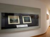Eastern Art Paintings Gallery - Yoshida exhibition, vitrine. © Ashmolean Museum, University of Oxford