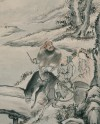 Detail of The Hero's Happy Encounter, Yangzhou, China, 1878 (Museum No: EA1966.85). © the artist