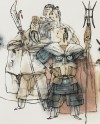 Detail of Heroes from The Water Margin, Shanghai province, China, 2003 (Museum No: EA2007.194). © the artist