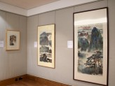 Chinese Paintings Gallery - Chinese Landscapes exhibition wall detail. © Ashmolean Museum, University of Oxford