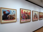 Eastern Art Paintings Gallery - Cultural Revolution II exhibition east wall. © Ashmolean Museum, University of Oxford