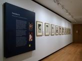 Eastern Art Paintings Gallery - Yakusha-e: Kabuki Prints exhibition east wall. © Ashmolean Museum, Oxford University