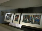 Eastern Art Paintings Gallery - Yakusha-e: Kabuki Prints exhibition case. © Ashmolean Museum, University of Oxford
