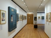Eastern Art Paintings Gallery - Tales in the Round exhibition east wall. © Ashmolean Museum, University of Oxford
