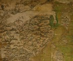 Detail of a map, probably 1620s, showing Ming trade routes. © Bodleian Library, University of Oxford (Museum no: MS. Selden Supra 105)