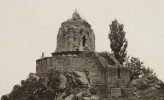 Shankaracharya temple at Srinagar, Kashmir, AD 500 – 600 with later additions, Photo: by John Burke, late 1860s.
