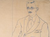 Portrait of Gerald Reitlinger by (John) Christopher Wood, 1926 (Museum number: WA1978.51). © Ashmolean Museum, University of Oxford