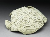Fragment of a jug with vegetal decoration (oblique)