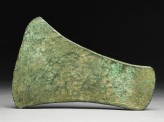 Copper celt, or axe head, from the Copper Hoard Culture (side)