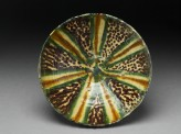 Bowl with polychrome splashed decoration