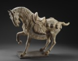 Earthenware figure of a horse (side)