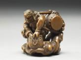 Netsuke in the form of Raiden, the god of thunder (EA1956.1721)