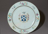 Armorial plate with the arms of Cullum of Devon