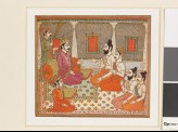 Prince with holy men or Brahmins