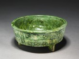 Three-footed bowl (oblique)