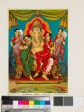 Elephant-headed god as leader of the Siddhis
