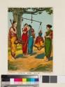 The weighing of Krishna
