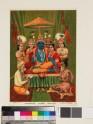Consecration of the tiara at the coronation of Rama