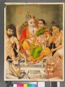Shiva, Parvati, Ganesha, and two other deities