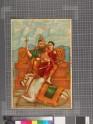 Shiva, Parvati, the infant Ganesha, and Nandin on Mount Kailash