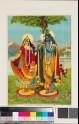 Radha with Krishna the Flautist, or Muralidhara-Krishna