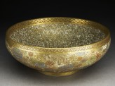Bowl with flowers and butterflies (oblique)