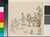 Scene from the Vessantara Jataka