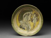 Dish with polychrome glazing (top)