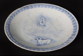 Blue-and-white dish with Jade Rabbit (EA1978.840)
