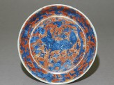Dish with a kylin, or horned creature (EA1978.980)