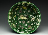 Bowl with horses amid waves (EA1978.1371)