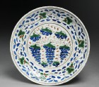 Dish with grapes (EA1978.1480)