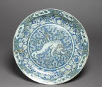 Dish with Chinese lion dog (top)