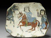 Fragment of a bowl with riders (top)