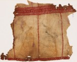Textile fragment from a tunic with geometric bands (EA1984.101)