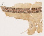 Textile fragment with bands of spirals (EA1984.106)