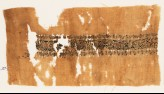 Textile fragment with linked medallions and scrolls (EA1984.122)