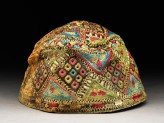 Cap with diamond-shapes and triangles (EA1984.126)