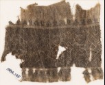 Textile fragment with band of hooks and diamond-shapes (EA1984.145)