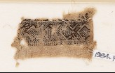 Textile fragment with hooked chevrons (EA1984.148)