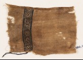 Textile fragment with lozenges, stars, and an S-shape (EA1984.149)