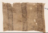 Textile fragment with bands of lozenges and quatrefoils (EA1984.150)