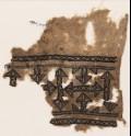 Textile fragment with arrows (EA1984.167)