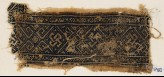 Textile fragment with interlaced knots and diamond-shapes (EA1984.186)