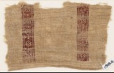 Textile fragment with S-shapes and diamond-shapes (EA1984.207)