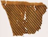 Textile fragment from a garment with bands of Z-shapes (EA1984.211)