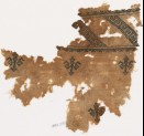 Textile fragment with triangles, V-shapes, and S-shapes (EA1984.228)